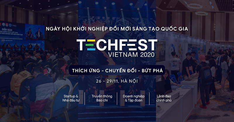 ominext group omicare tham gia techfest vietnam 2020 2