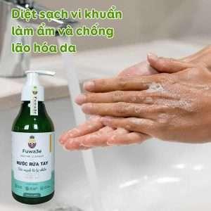 nước rửa tay dành cho mẹ và bé