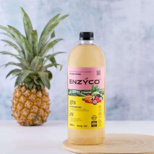 Nước ngâm khử độc thực phẩm Enzyco