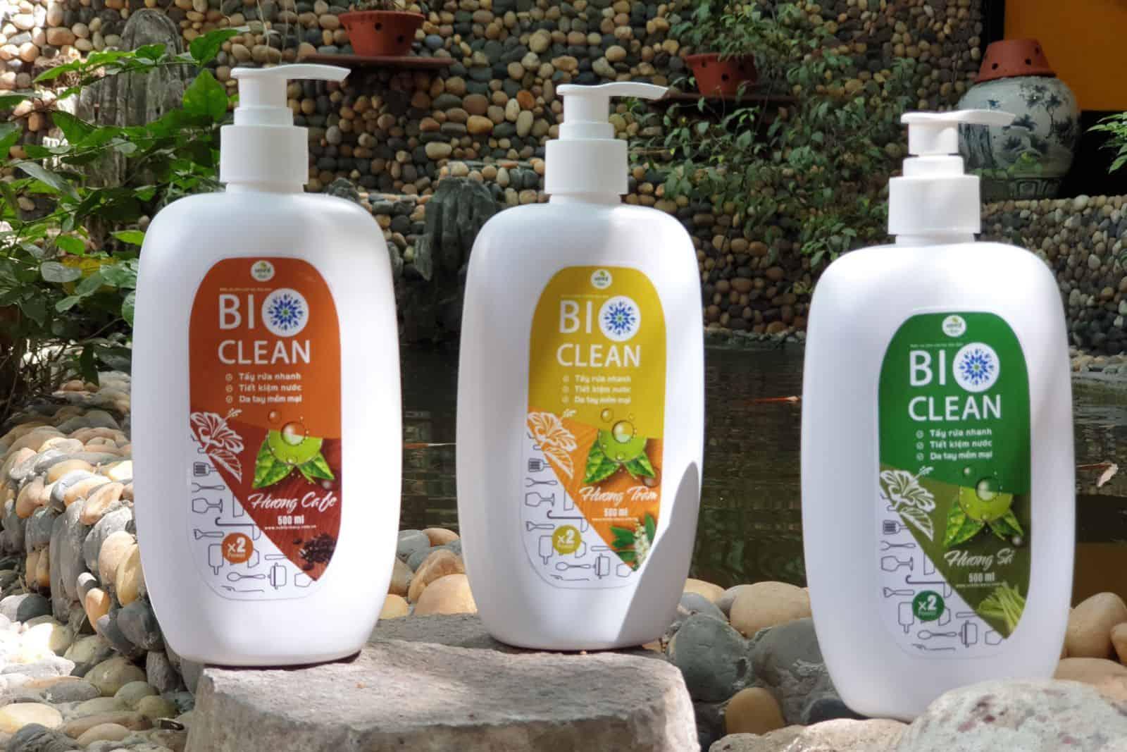 nước rửa chén sinh học BioClean