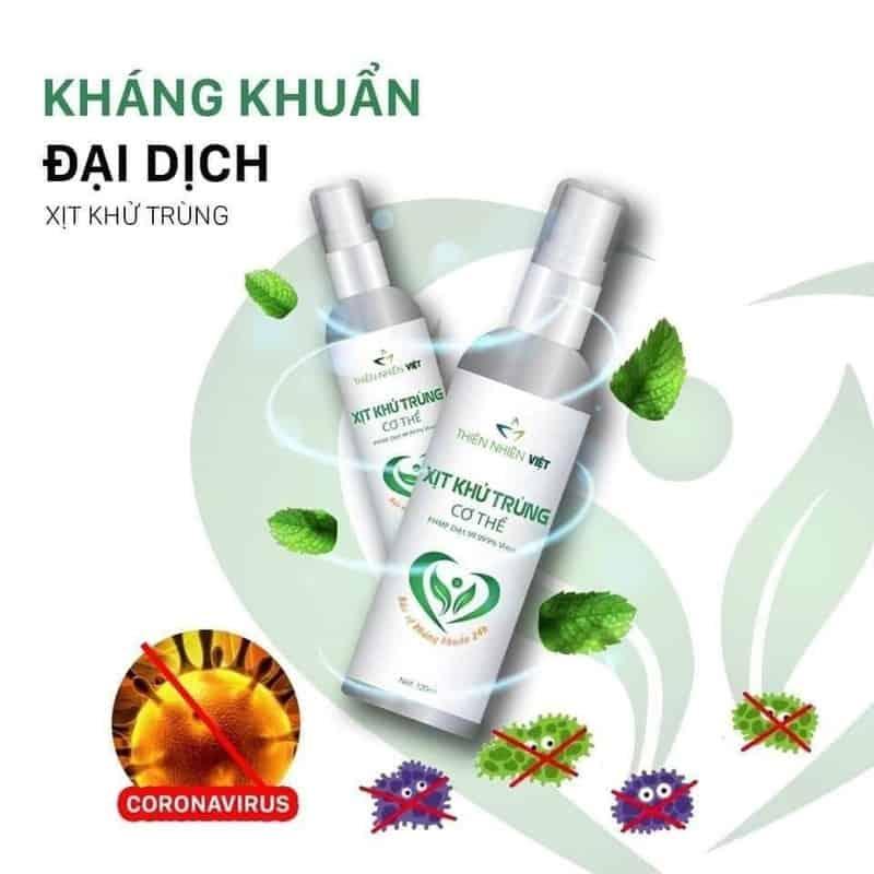Xịt khử khuẩn Thiên Nhiên Việt